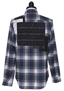 roar CHECK FLANNEL SHIRT B