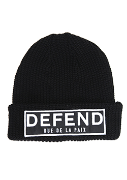 DEFEND PARIS BINY PAIX KNIT CAP