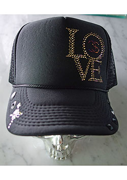 FranCisT_MOR.K.S. MINI CS LOVE&CROSS HIBISKULL SWARO CUSTOM BB CAP