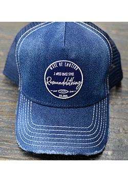 RESOUND CLOTHING VINTEAGE DENIM WAPEN CAP