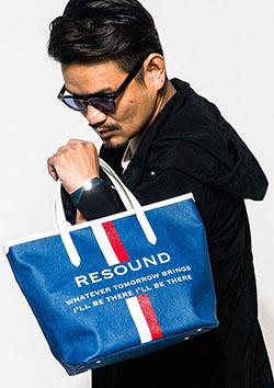 RESOUND CLOTHING RESOUND DENIM TOTE S