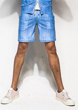 RESOUND CLOTHING RASH DENIM SHORTS