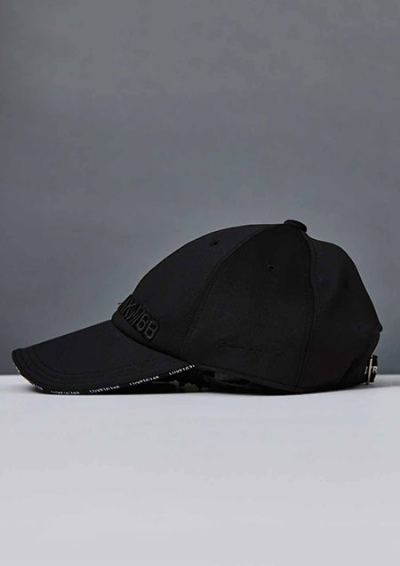AKM × Brown Bunny BLACK SENSE BASEBALL CAP A