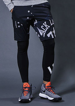 AKM × Brown Bunny LUXSPO-TECH DRIVING EASY TRAINING SHORTS