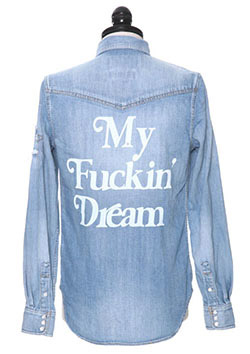 × Marbles DENIM SHIRT ( My Fuckin' Dream )