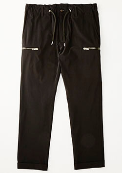 AKM 2WAY STRETCH NYLON ZIP EASY SLACKS