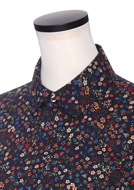DSQUARED2 CLASSIC PRINTED SHIRT■