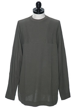 JULIUS CO MESH DOUBLE FASE WIDE L/S T-SHIRT