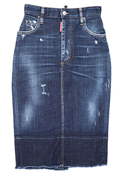 DSQUARED2 DENIM SKIRT■