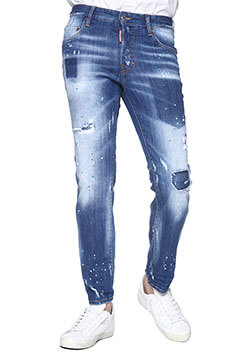 DSQUARED2 CITY BIKER JEAN