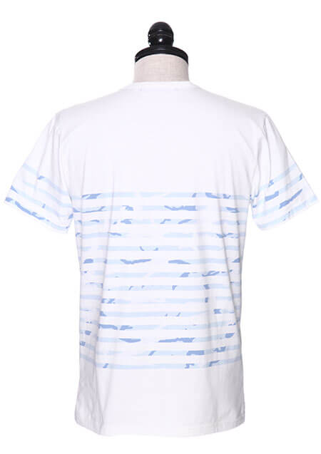 ORIGINAL WHITE / BORDER CAMO S/S ROUND