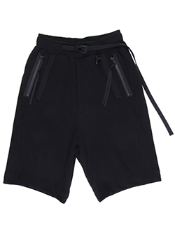 CO MESH DOUBLE FACE EASY SHORT PANTS