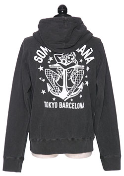 Marbles x BUENA VISTA (SOMOS LA CA?A) ZIP UP HOODED PARKA