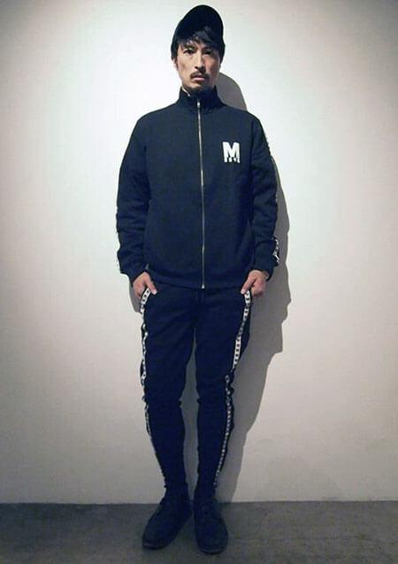 × BAGARCH M×BGHB COLLABO TRACK PANTS