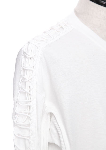 CO/MO JERSEY FASTENING T-SHIRT VER.2