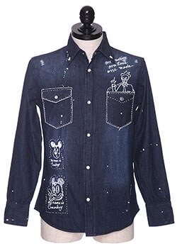 ONE MADE DENIM SHIRT