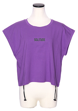 SOLITUDE CROPED TEE