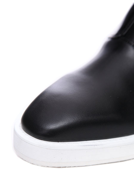 オイルカウスムース SLIP-ON SHOES/PALTFORM SOLE