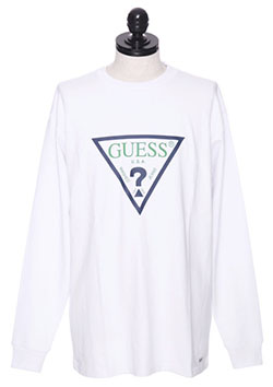 TRIANGLE LOGO LONG SLEVE TEE