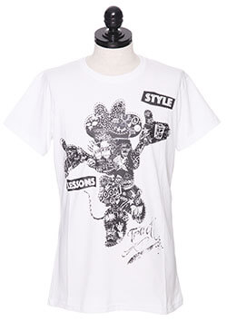 STYLE LESSONS STRASS CRYSTAL T-SHIRT
