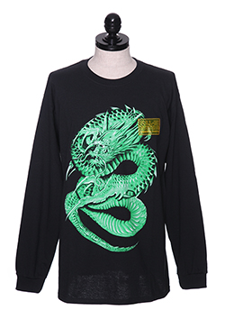 AIR BRUSH DRAGON LS TEE