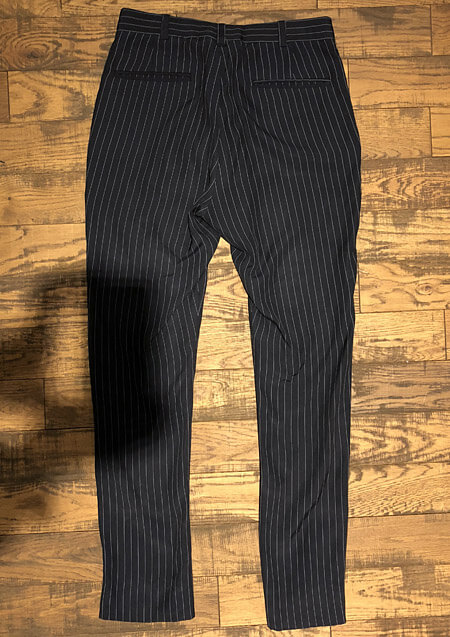 DO YOU THINK I,m CRAZY PINSTRIPE PANTS