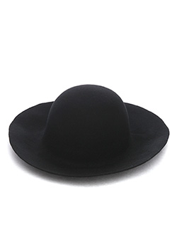 LONG BRIM FELT HAT (HAVE A NICE DAY)