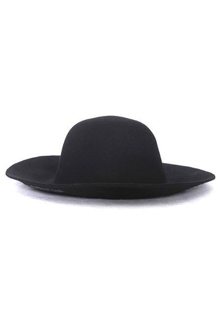 LONG BRIM FELT HAT (HAVE A NICE DAY)