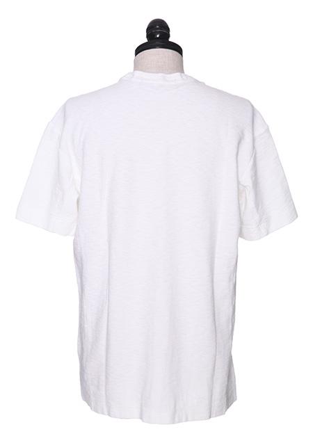 コットンラグ リバースデザイン半袖 胸ポケット