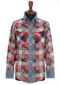 EMBROIDERY CHECK SHIRT