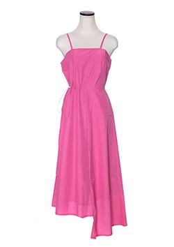 ASYMMETRY NYLON DRESS