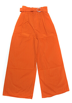 NYLON WIDE PANTS