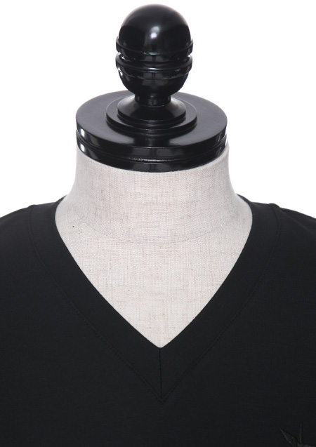 TR PONTI ARTIFICIAL LEATHER V-NECK