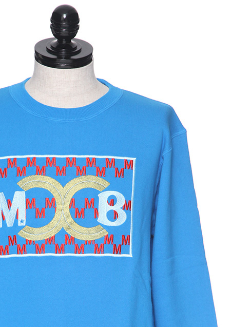 BAGARCH WASHED EMBROIDERY SWEAT SHIRTS ( M×BGHB )