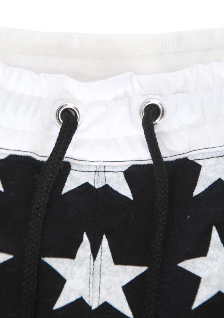 SWEAT SHORT PANTS (STAR PATTERN)