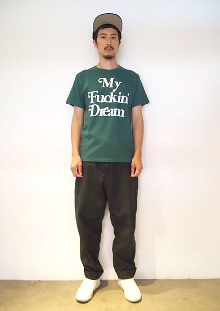 CREW NECK T-SHIRTS (My Fuckin' Dream 18SS)