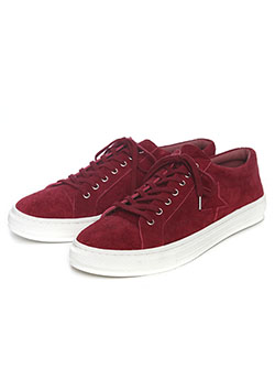 LOW CUT LEATHER SNEAKER