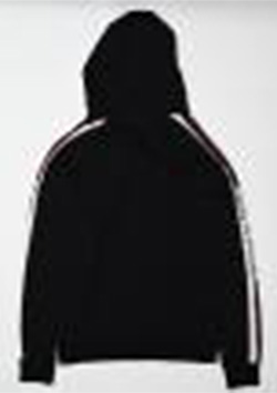 SLEEVE LINE PULL OVER PARKA