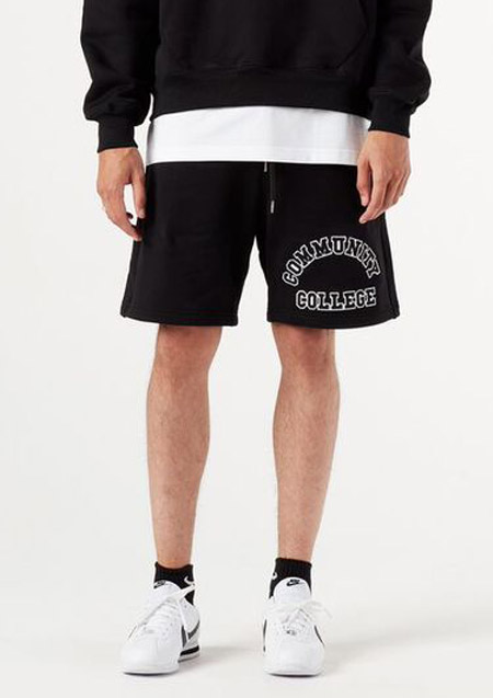 COLLEGIATE SWEAT SHORT