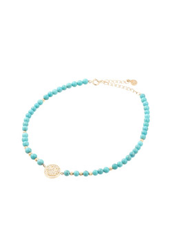 SMILE TURQUOISE BRACELET SMALL