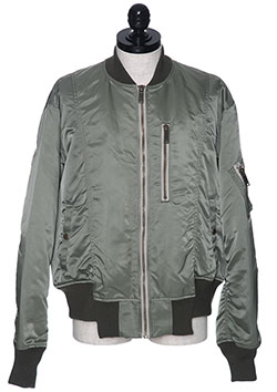 ROTATORY NYLON BOMBER JACKET
