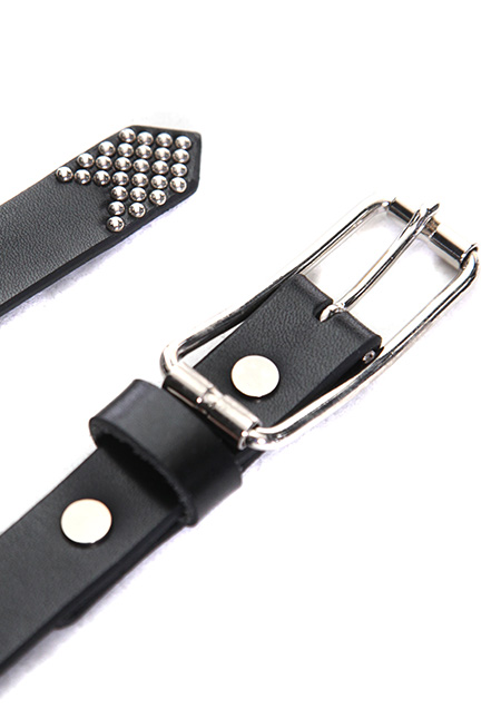 ITALY BUCKLE LONG BELT(T-LEATHER)