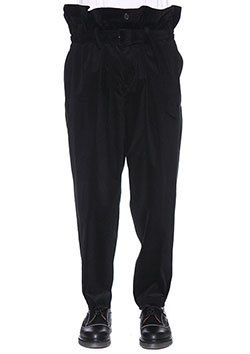 NARROW WALE WRAP TROUSERS