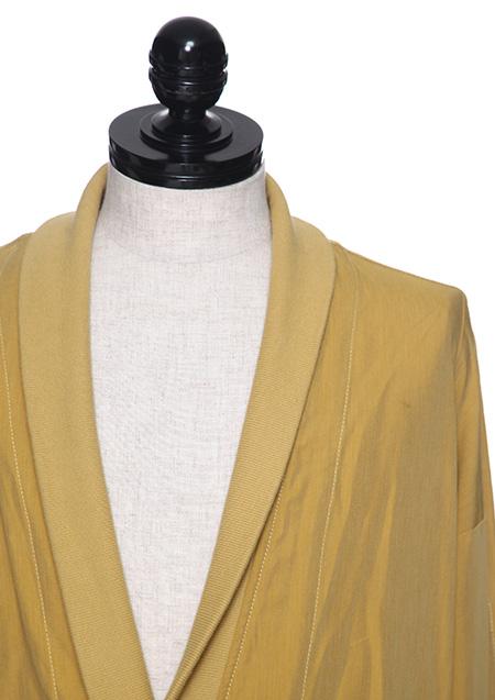 VIS/CO CLOTH GOWN BLOUSON