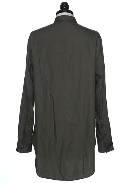 COTTON BROAD MILITARY SHIRT