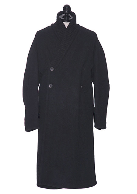 WO/NY MELTON ROBE COAT