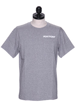 CREW NECK POCKET T-SHIRT (PEAK POINT)