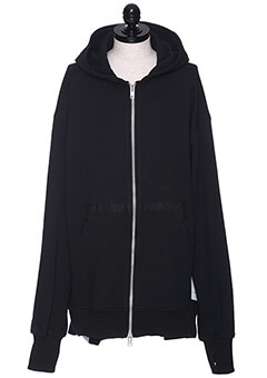 HOODIE WITH A ZIPPER (RE-DESIGN FW17)