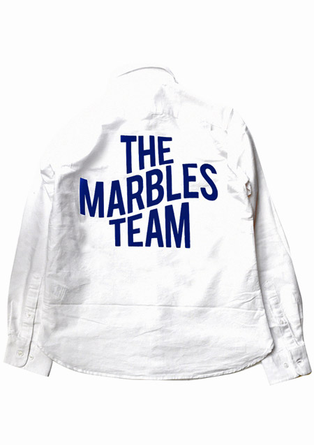 OXFORD SHIRT #THE MARBLES TEAM
