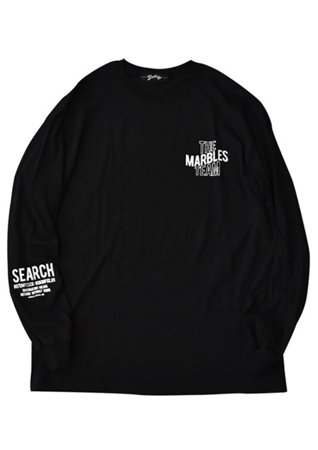 L/S TEE #THE MARBLES TEAM